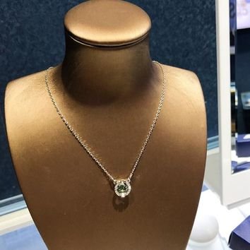 HCXX 19July 373 Swarovski SPARKLING DANCE Vibrant Crystal Color Exquisite and charming Female necklace 5496308
