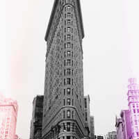 Flatiron Pop Art Print by The Dreamery