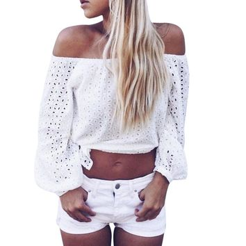 Dionne off shoulder top