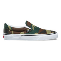 Woodland Camo Slip-On | Shop At Vans