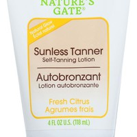 NATURES GATE: Tanner Sunless, 4 oz