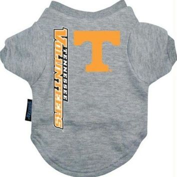 auguau Tennessee Vols Dog Tee Shirt