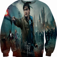 Harry Potter Crew Neck Sweater Sweatshirt