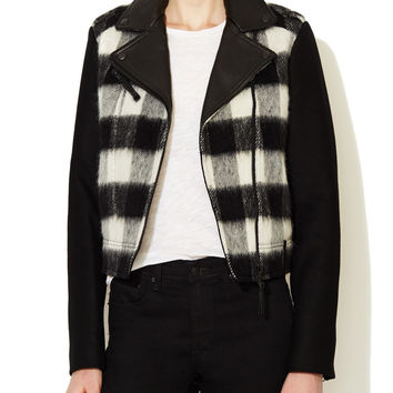 Shanty Checked Wool Jacket