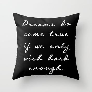Dreamers  Throw Pillow by Xiari