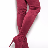 Long Story Chic Over-The-Knee Boots