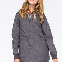 Burton Stella Shirt Womens Snowboard Jacket Denim Print  In Sizes