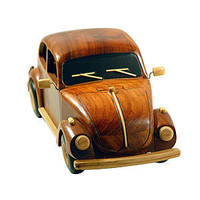 Carved Wood Vintage Bug - Decorative Accents - Cost Plus World Market