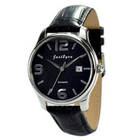 Automatic Mechanical Watch Numerals Black  - Free shipping
