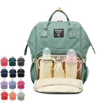13 Color Lager Capacity Mummy Multifunction Backpack Nappy Bag Desiger Outdoor Travel Stroller Baby Nursing Bag For Baby Care