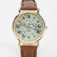 Treasure Map Watch- Brown One