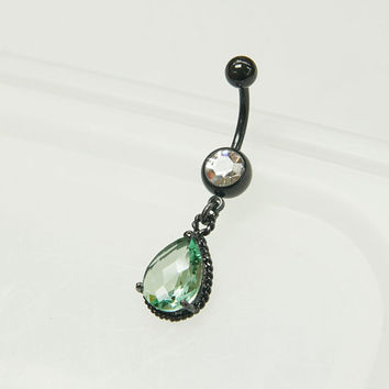 Belly button ring,Dangle Belly Ring,Body piercing,Belly Jewelry,Navel jewelry,Chic Jewelry,Unique Belly ring,piercing jewelry,crystal belly.