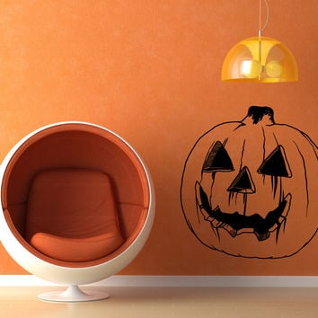 Vinyl Wall Decal Sticker Jack O' Lantern #OS_MB651