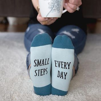 Small Steps Every Day - Unisex Socks