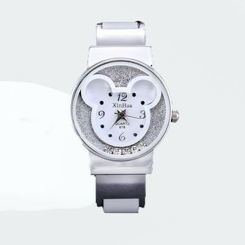Mickey Mouse Stainless Steel Kids Watch