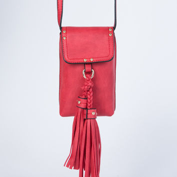 Leather Cell Mini Bag