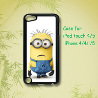 Despicable me - ipod 4 case ,ipod 5 case , iphone 4 case , iphone 5 case , ipod case, ipod touch case