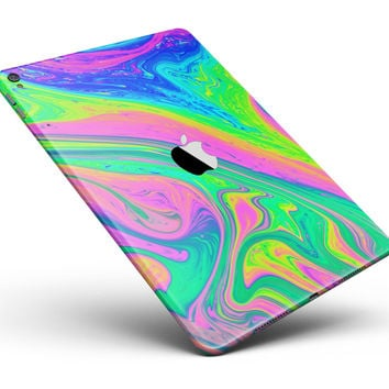 """Neon Color Fushion V3 Full Body Skin for the iPad Pro (12.9"""" or 9.7"""" available)"""