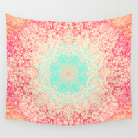 Hypnotic Wall Tapestry by Sandra Arduini