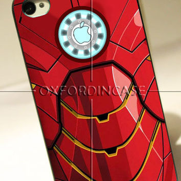 Iron Man Body Armor Machine Apple Reactor - for iPhone 4/4S case iPhone 5 case hard case hard cover