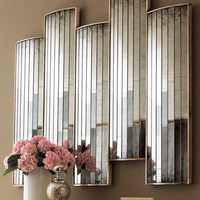 """John-Richard Collection - """"Caster"""" Mirrored Wall Decor - Horchow"""