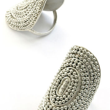 Labyrinth Ring - Silver