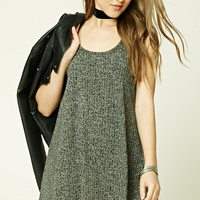 Marled Knit Tank Dress