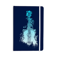 """Frederic Levy-Hadida """"Nature Tune - Blue"""" Aqua Music Everything Notebook"""