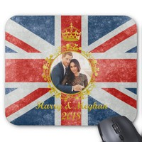 Prince Harry and Meghan Markle Mouse Pad