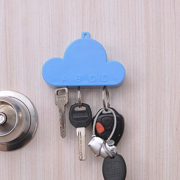 Cloud Key holder Magnet Clouds Key Storage Device Key Hang Creative Wedding Gift Hanging on Wall Decoration
