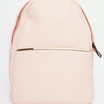 Glamorous | Glamorous Minimal Backpack in Blush at ASOS