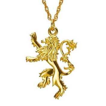 Best gold lion pendant necklace products on wanelo gold lion badge pendant necklace aloadofball Choice Image