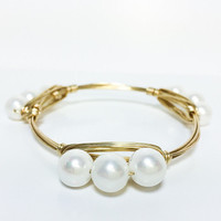 Cassandra Bracelet in Gold
