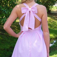 Hamptons Summer Dress- Pink