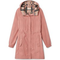 Tory Burch Anorak With Plaid Lining