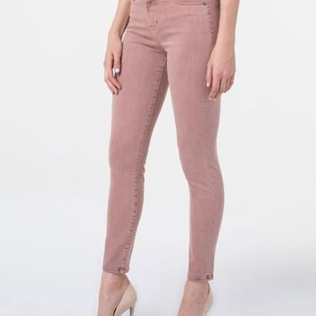 Liverpool Piper Hugger Ankle Skinny in Luscious Pink