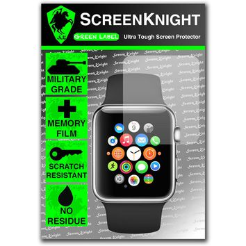 ScreenKnight Apple Watch Series 2 (42MM) SCREEN PROTECTOR Military Shield
