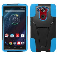 Zizo Inverse Armor Motorola Droid Turbo Case - Blue