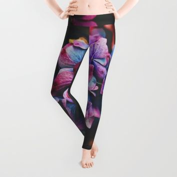 Treasure of Nature Leggings by Mixed Imagery