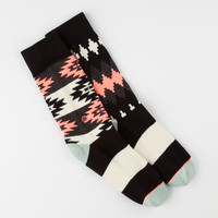 Stance El Paso Mix & Match Womens Socks Charcoal One Size For Women 24830911001