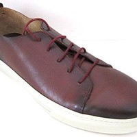 Gucci Betis Calf Maroon Tennis Dress Shoes Made in Italy