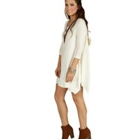 White Shark Hem Tunic