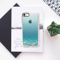 Travel The World - Under The Sea Transparent iPhone 7 Case by Love Lunch Liftoff | Casetify