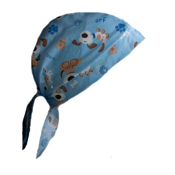 Blue Surgical Scrub Puppy Cap
