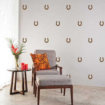Horseshoes Mini-Pack Wall Decals