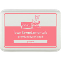 Lawn Fawn Dye Ink Pad - Guava - NEW!