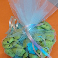 Plantable Earth-Friendly Favors. Set of 30 hearts. Choose your colors.