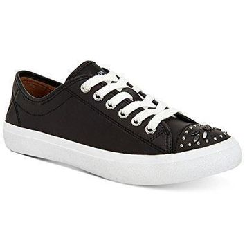 Coach Elle Leather Fashion Sneakers