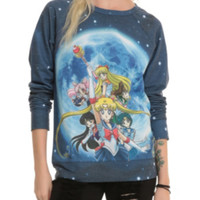 Sailor Moon Group Girls Pullover Top