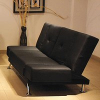 At Home USA Conseto Leatherette Sofa | Modern Furniture For Home